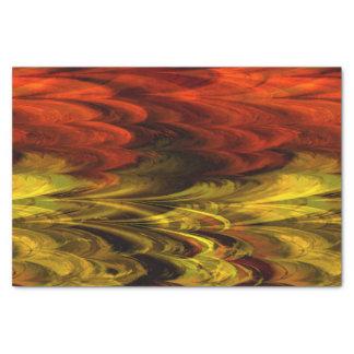 Fractal Marble 4-19 Tissue Paper
