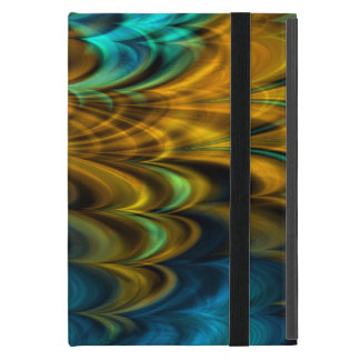 Fractal Marble 4-4 Powiscases Covers For iPad Mini