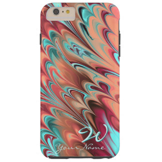 Fractal Marble 6-1 Tough iPhone 6 Plus Case