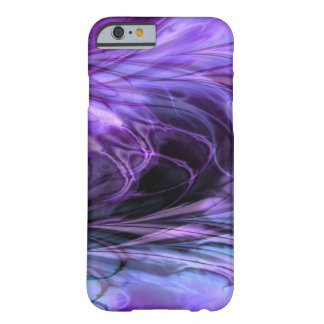 Fractal Marble Purple Barely There iPhone 6 Case