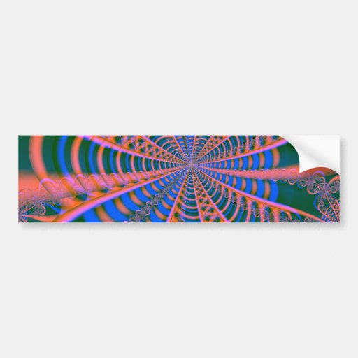fractal mf 235 bumper sticker
