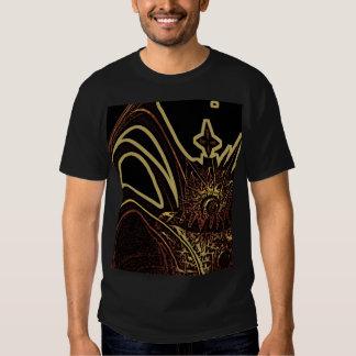 Fractal mountain secret tee shirts