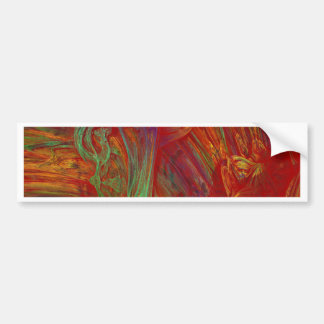 Fractal oils bumper sticker
