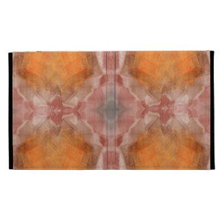 Fractal Orange iPad Folio Cover