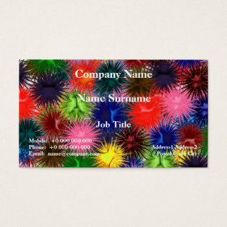 Fractal Paintballs Business Card