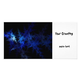 Fractal Personalised Photo Card