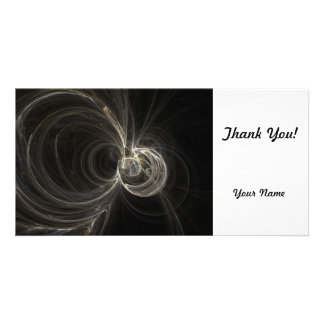 Fractal Photo Card Template