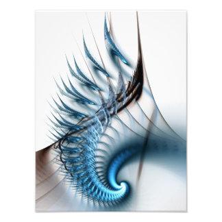 Fractal Photo: Sea Waves Photo Print