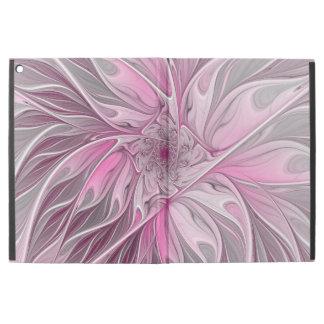 """Fractal Pink Flower Dream, Floral Fantasy Pattern iPad Pro 12.9"""" Case"""