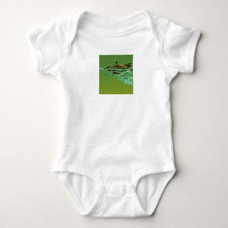 Fractal Power 1 Baby Bodysuit