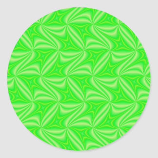 Fractal products classic round sticker
