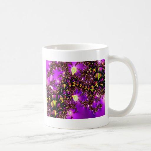Fractal Purple Stairway to Heaven Mug