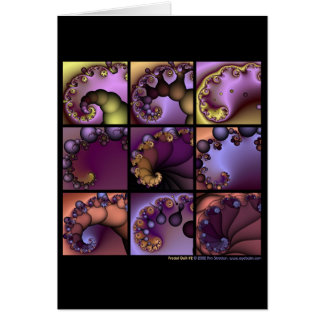 Fractal Quilt #2 Card