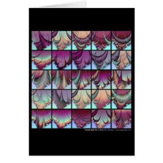 Fractal Quilt #3 Card