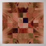 Fractal Quilt Canvas Print
