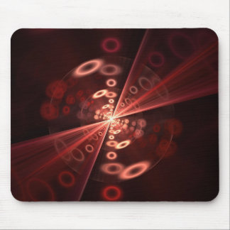 Fractal Rings Mouse Pad