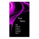 FRACTAL ROSE 3 bright light purple Business Cards