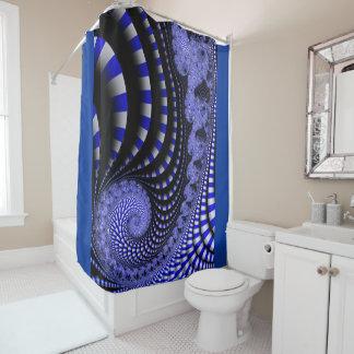 fractal s.c. 1 shower curtain