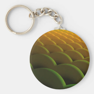 Fractal Scales Keychain