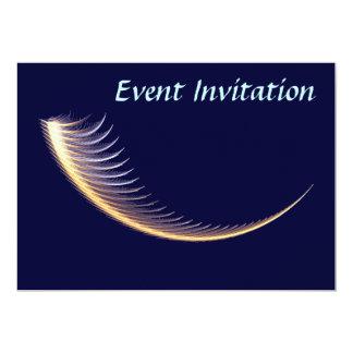 Fractal Shofar 13 Cm X 18 Cm Invitation Card