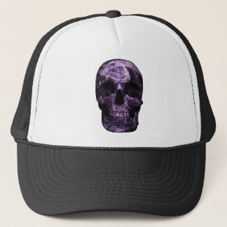 Fractal Skull Design Trucker Hat