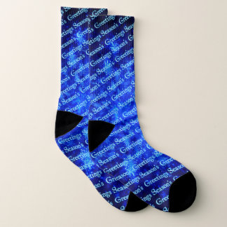 Fractal Snowburst - Season's Greetings Socks