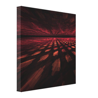 Fractal Space Gallery Wrapped Canvas