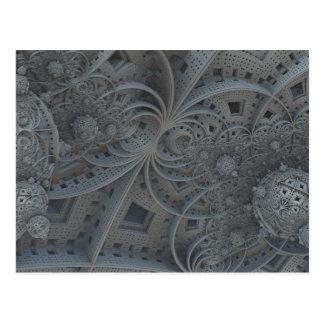 fractal spheres postcard