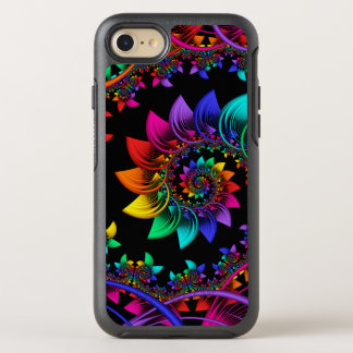 Fractal Spiral Bound OtterBox Symmetry iPhone 8/7 Case