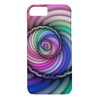 Fractal Spiral Candy Shop iPhone 8/7 Case