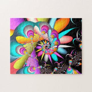 Fractal Spiral Jigsaw Puzzle