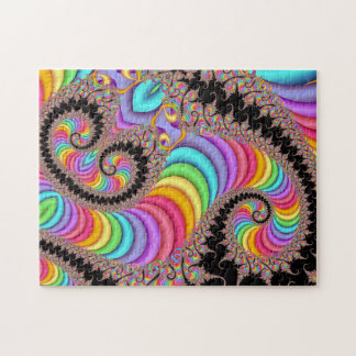 fractal Spiral Vision Jigsaw Puzzle