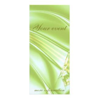 """Fractal """"Spring Spirit"""" Rack Card Vertical"""