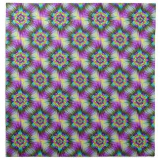 Fractal Star Tiled American MoJo Napkins