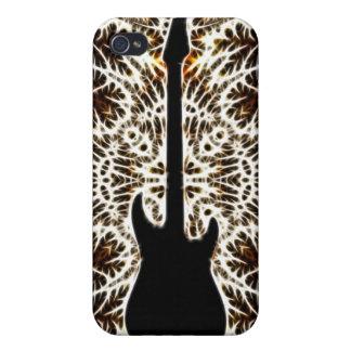 Fractal Style Guitar Design Case For iPhone 4