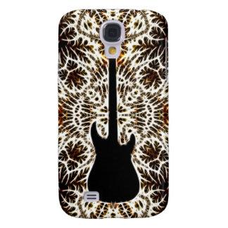 Fractal Style Guitar Design Galaxy S4 Case
