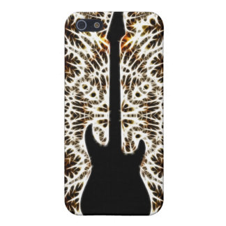 Fractal Style Guitar Design iPhone 5 Cases