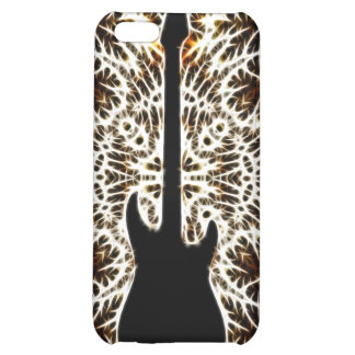 Fractal Style Guitar Design iPhone 5C Cover