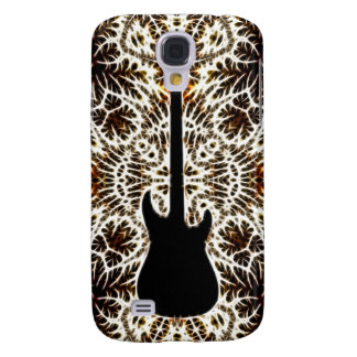 Fractal Style Guitar Design Samsung Galaxy S4 Case