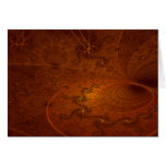 Fractal Sundial Thank You Note Card