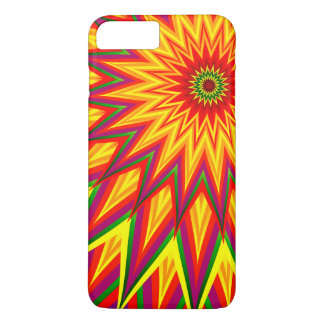 Fractal Sunflower Abstract Floral iPhone 7 Plus Case