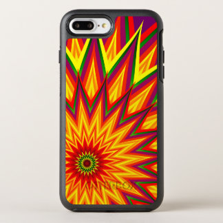 Fractal Sunflower Abstract Floral OtterBox Symmetry iPhone 7 Plus Case