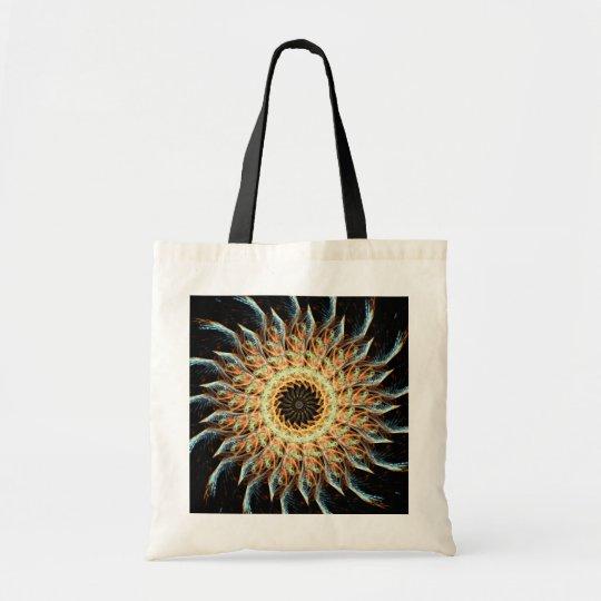 Fractal Sunflower Bag