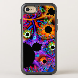 Fractal Sunflower Style OtterBox Symmetry iPhone 8/7 Case