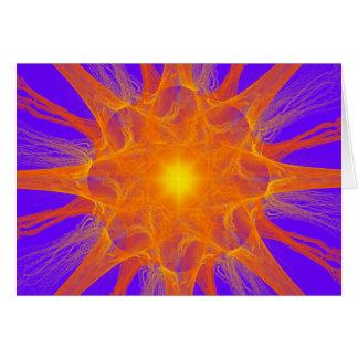 Fractal Supernova Card