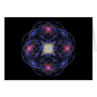 Fractal Swirl Card