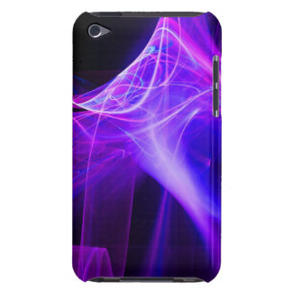 FRACTAL SWIRLS IN PURPLE BLUE PINK Case-Mate iPod TOUCH CASE