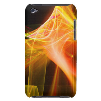 FRACTAL SWIRLS IN YELLOW ORANGE RED Case-Mate iPod TOUCH CASE