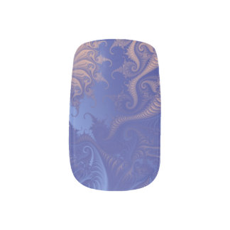 Fractal tentacles fingernail transfers