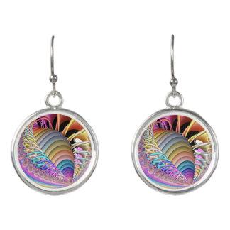 Fractal The Shell Earrings